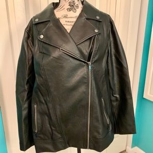 🌟Host Pick x2!!🌟 ON Faux leather moto jacket